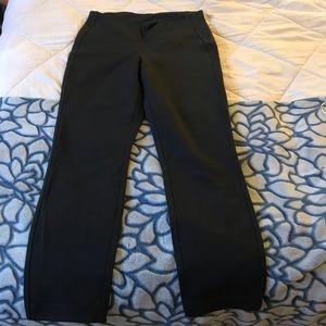 Lululemon Black think legging pants- size 8